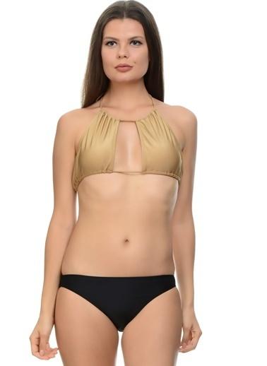 Motel Rocks Bikini Üst Altın